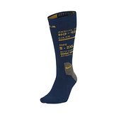 Nike LBJ U ELT CREW 深藍黃 單雙 運動 籃球 中筒襪 CK6784-490