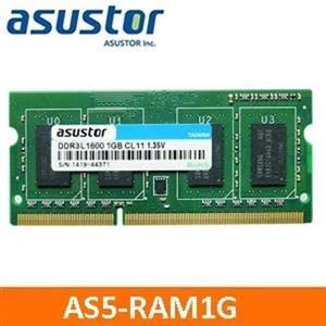 【綠蔭-免運】ASUSTOR華芸(AS5-RAM1G)1GB擴充記憶體