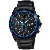 CASIO 卡西歐 EDIFICE 經典賽車計時手錶-湛藍 EFR-526BK-1A2 / EFR-526BK-1A2VUDF