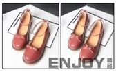 全館83折 日系森女圓頭小皮鞋文藝復古小清新淺口瑪麗珍女鞋平底軟妹娃娃鞋