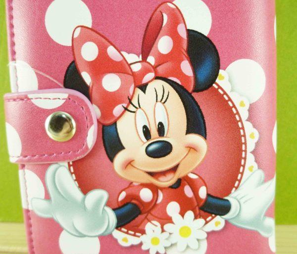 【震撼精品百貨】Micky Mouse_米奇/米妮 ~二折夾-粉米妮