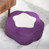 伊登 梅花糖 造型小椅凳(紫)
