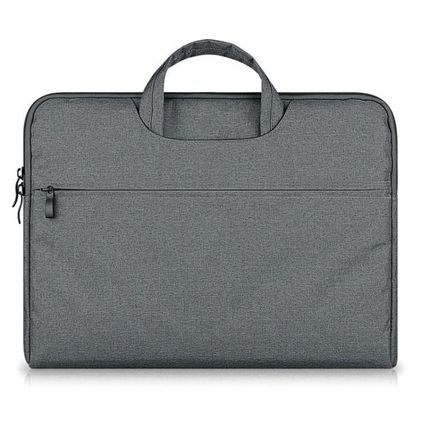 電腦包 蘋果華碩筆電macbook電腦包手提14寸戴爾惠普公文包pro文件簡約