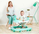 嬰兒學步車多功能防側翻6/7-18個月男寶寶手推可坐女孩幼兒可摺疊 igo漾美眉韓衣