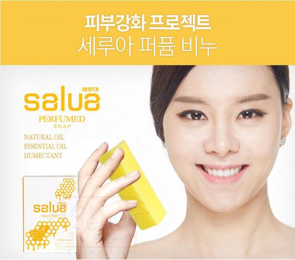 韓國salua 黃色蜂蜜+香蕉精油手工皂 首爾的家