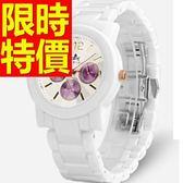 陶瓷錶-清新時尚繽紛女手錶56v15【時尚巴黎】
