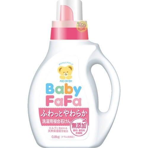 日本製 Baby FaFa熊寶貝 新生兒衣物可用 衣物洗衣精 0.8kg