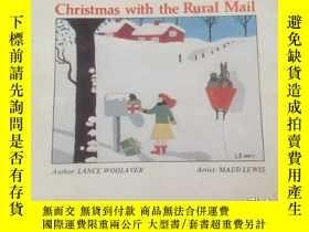 二手書博民逛書店《Christmas罕見with the Rural Mail》