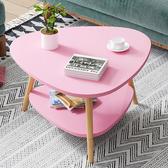 茶几 北歐茶幾簡約現代小戶型客廳沙發邊桌家用臥室小圓桌簡易小茶幾桌【免運】WY