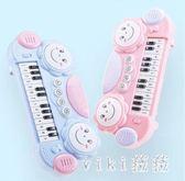 兒童電子琴寶寶早教音樂玩具小鋼琴0-1-3歲男女孩嬰幼兒益智禮物 nm3503 【VIKI菈菈】