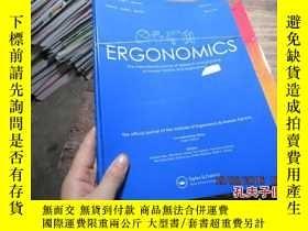 二手書博民逛書店ergonomics罕見the international jo