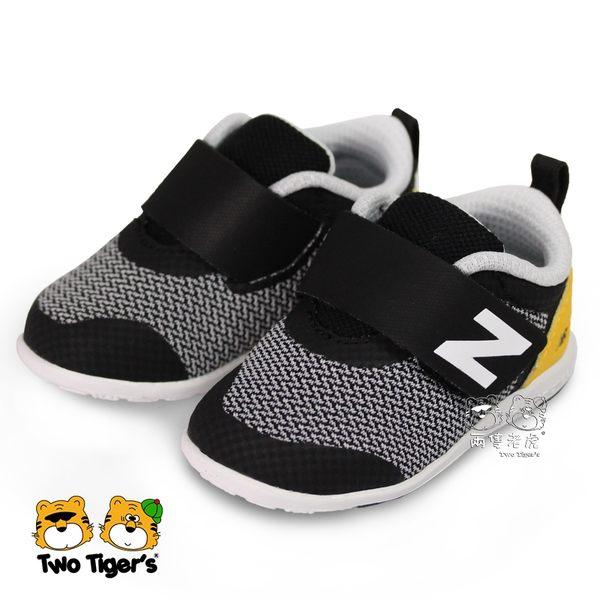 New Balance 223 日本設計 黑/黃 魔鬼氈 學步鞋 小童鞋 NO.R3546