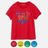 WHY AND 1/2 普普熊吸濕排汗T恤-親子裝 5Y~10Y 多色可選
