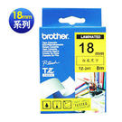brother TZ-TAPE 護貝標籤帶系列 【 18 mm 】