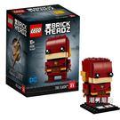 樂高積木樂高方頭仔系列41598閃電俠LEGOBRICKHEADZ積木玩具xw