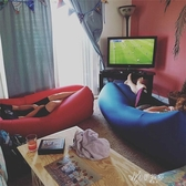 充氣沙發 創意便攜空氣沙發 懶人充氣沙發 1.18kg 伊芙莎YYS