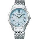 SEIKO精工 LUKIA 純淨之心真鑽太陽能腕錶 V147-0CR0U SUT401J1