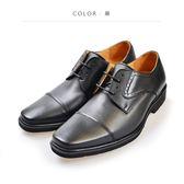 Waltz-「MIT」高規格素面紳士鞋514037-02黑