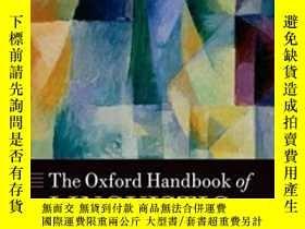二手書博民逛書店The罕見Oxford Handbook Of Linguist