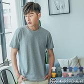 純棉3M抗UV短袖T恤【EN88001】OBIYUAN  防曬素面短T 共12色 情侶款