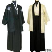 日本和服男士日式傳統演出舞臺服正裝 叮噹百貨