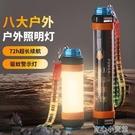 (快出)帳篷燈露營燈多功能led充電usb戶外野營手電筒家用應急照明營地燈
