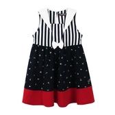 『小鱷魚童裝』海軍領洋裝(02號~10號)533384