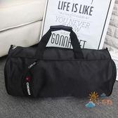 旅行袋美佳寶大容量手提包健身包運動包男女訓練包行李包圓筒旅行包旅遊