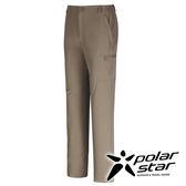 PolarStar CORDUR 四向彈性長褲 男『卡其』台灣製造 戶外│休閒│登山│露營│吸濕排汗褲 P16349
