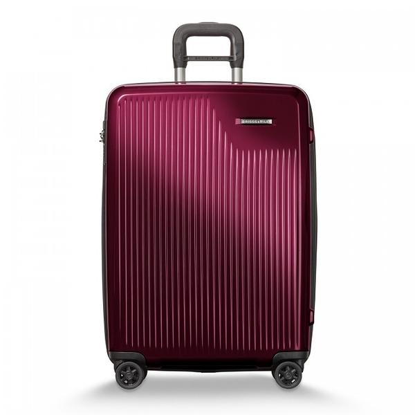 【BRIGGS & RILEY】SYMPATICO硬殼可擴充四輪行李箱27吋(紅)