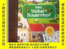二手書博民逛書店mein罕見Sticker–Bauernhof (我的貼紙農場)