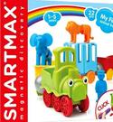 [COSCO代購] W133027 Smartmax 磁力接接棒 動物園火車組