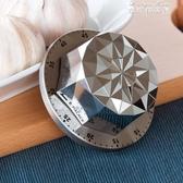 (快出) 計時器定時器機械提醒器倒計時鐘廚房鬧鐘花朵形狀