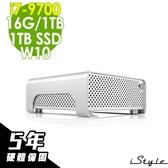 【五年保固】iStyle Mini 迷你雙碟電腦 i7-9700/16G/1TSSD+1TB/W10/五年保固