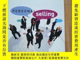 二手書博民逛書店Personal罕見Selling: Building Cust