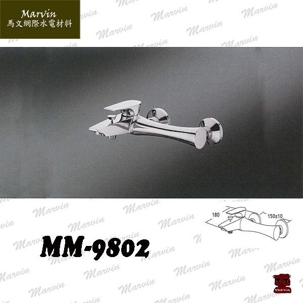 水龍頭  水電DIY  蓮蓬淋浴龍頭  MM-9802   品味北歐流線型