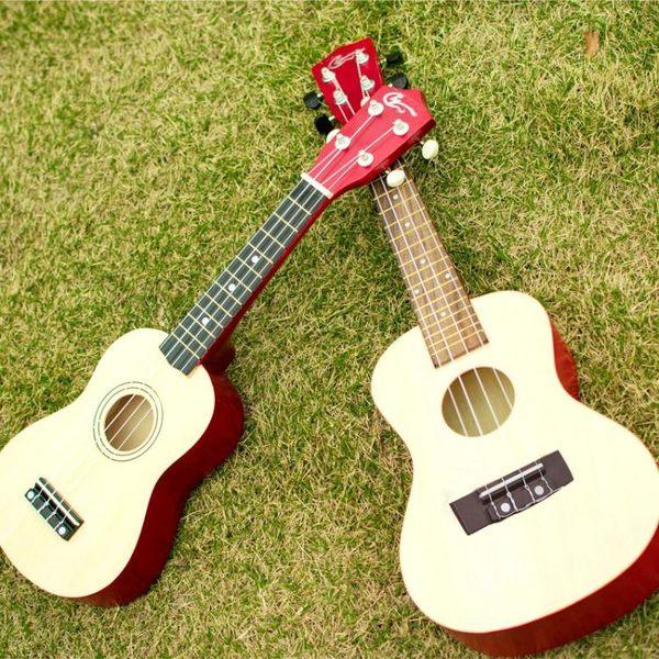 尤克里里小吉他初學者入門21寸23寸烏克麗麗學生成人女新WY【四季生活館】