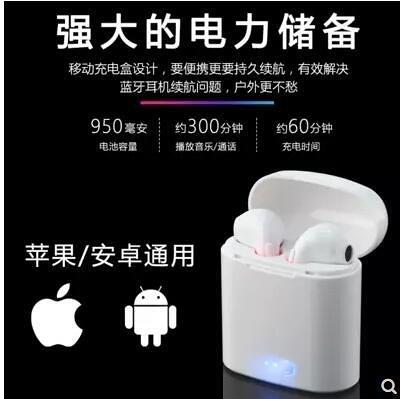 i7s無線藍芽耳機雙耳帶充電倉i9s蘋果安卓通用i10入耳式運動耳塞 微愛家居