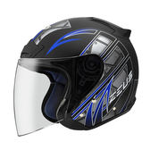 ZEUS 瑞獅安全帽,ZS-609,I13/消光黑藍