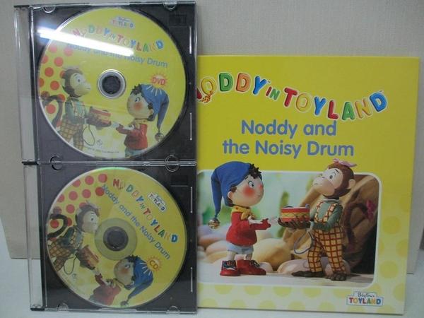 【書寶二手書T6/少年童書_AR2】Noddy in Toyland-Noddy and the Noisy Drum_附光碟