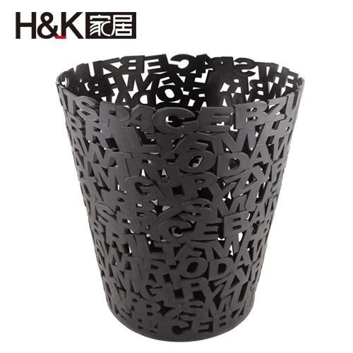 H&K 北歐現代簡約垃圾桶(12L)【愛買】