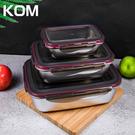 KOM 304不鏽鋼萬用保鮮盒三件組兩入...