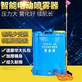 農用智能電動噴霧器 多功能高壓噴頭鋰電池12v充電果樹打農藥消毒