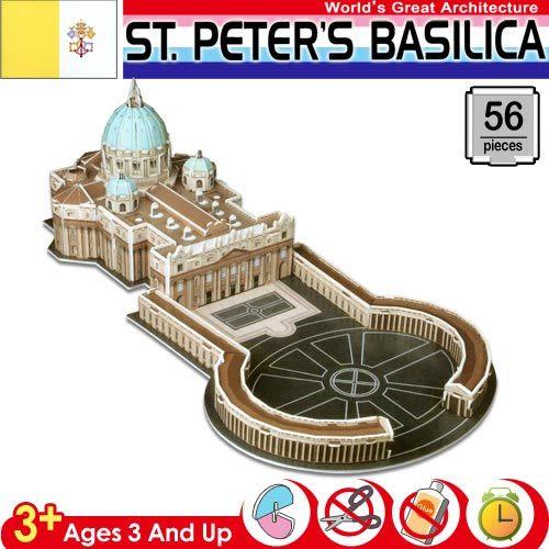《3D立體拼圖》ST.PETER'S BASILICA 聖彼得大教堂