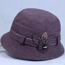 中老年人帽子女奶奶春秋天盆帽薄款媽媽漁夫帽春季遮陽帽太太布帽 探索先鋒