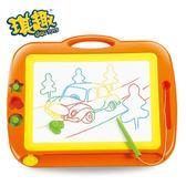 兒童畫畫板磁性寫字板寶寶小玩具1-3歲2幼兒彩色加大號涂鴉wy 快速出貨