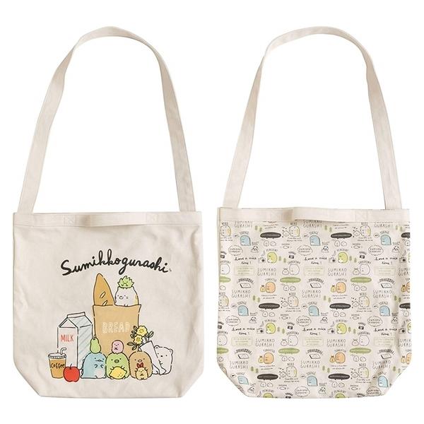又敗家@日本San-X角落生物兩用包帆布包CU74系列角落小夥伴手提包肩揹包背包牆角生物手提袋休閒包