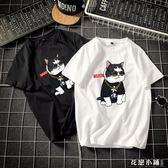 男士潮流短袖t恤夏季新款純棉圓領韓版學生原創潮牌原宿風體恤衫