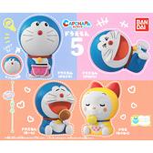 全套4款【日本正版】哆啦A夢 造型轉蛋 P5 扭蛋 轉蛋 環保蛋殼 哆啦美 小叮噹 BANDAI - 419877
