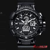 兒童錶 手錶男韓版個性酷女學生防水防摔潮男兒童酷炫指針式電子錶 3色